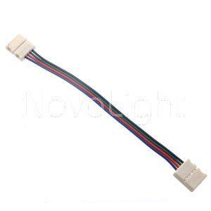 Conector para unir tiras RGB y Monocromaticas