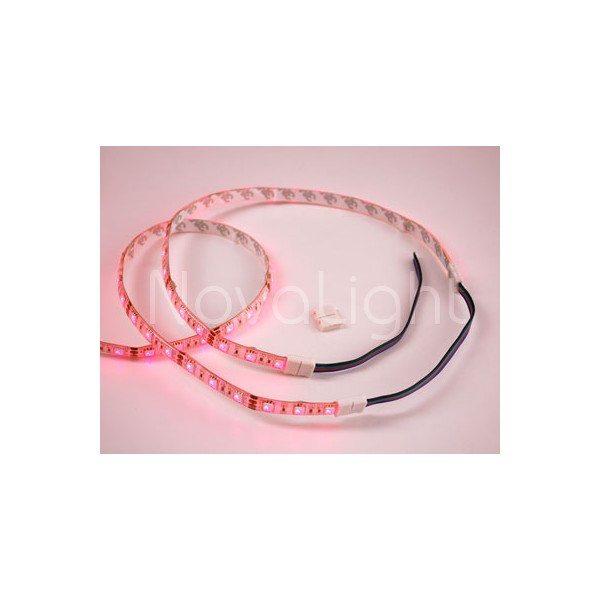 Tiras unidas mediante un cable RGB sin soldado
