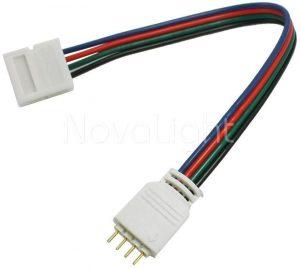 Cable para conectar tiras LED con controlador RGB