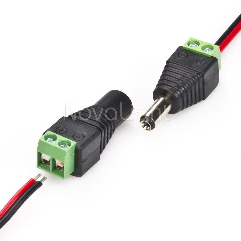 Conector corriente portada
