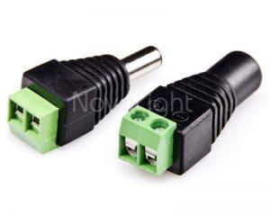 Concectores 12v para LED
