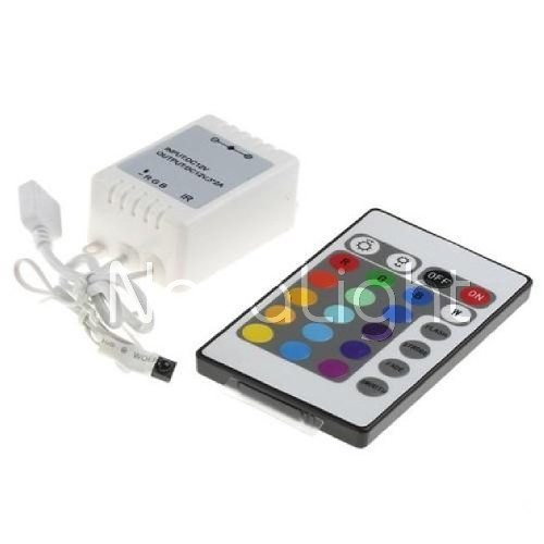 Controlador RGB de 25 botones Con control Remoto