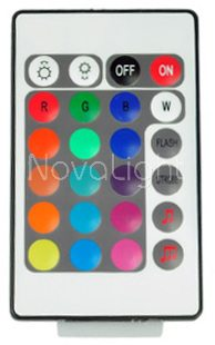 Controlador RGB Audioritmico Musical Detalle control remoto