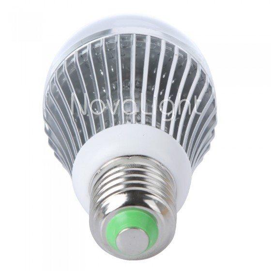 Foco LED 12w Blanco Puro Detalle Socket