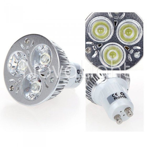 Foco LED 3w MR16 Blanco Vistas