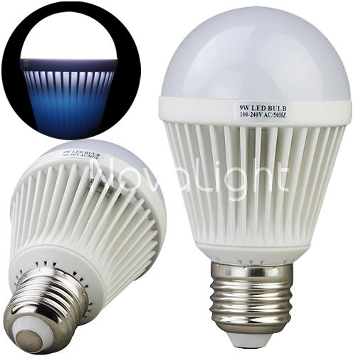 Foco LED 9w Blanco Puro Vistas