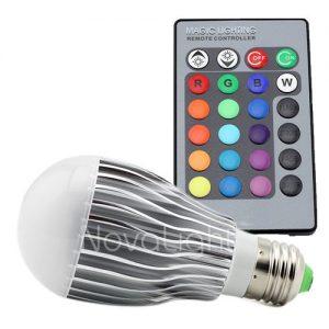 Foco LED RGB 10w Frontal