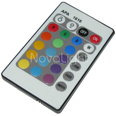 Foco LED RGB 10w Control Remoto
