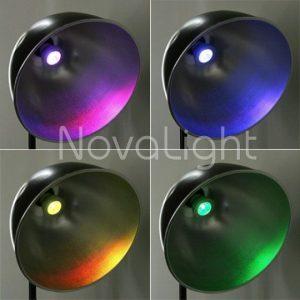 Foco LED RGB 3w E27 Tipos de Color