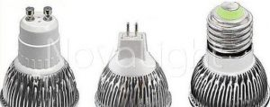 Lampara LED 5w BLanco Bases MR16 GU10 y E27