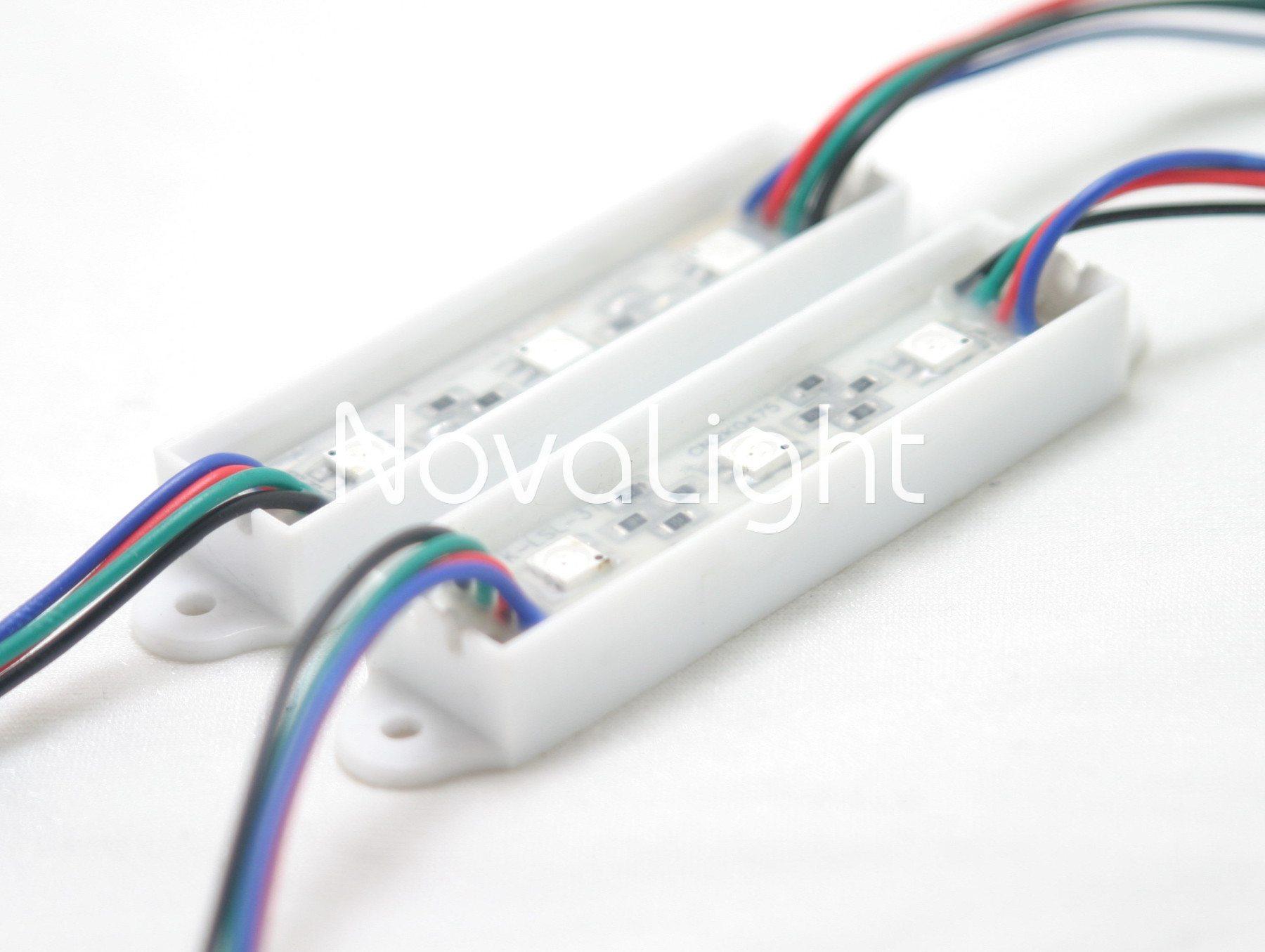 Modulo de 3 LED RGB 5050 Portada