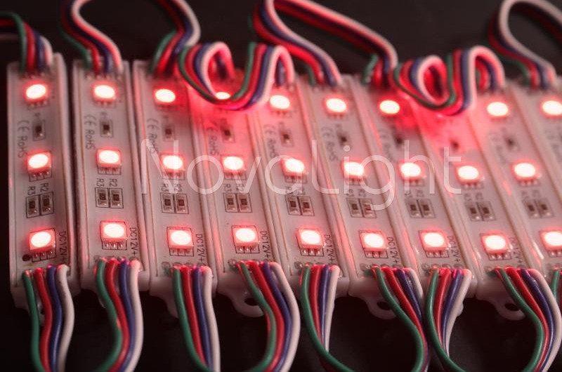 Modulo de 3 LED RGB 5050 Tonos disponibles