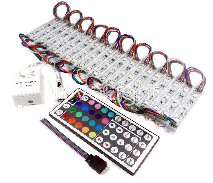 Modulo de 3 LED RGB 5050 Accesorios