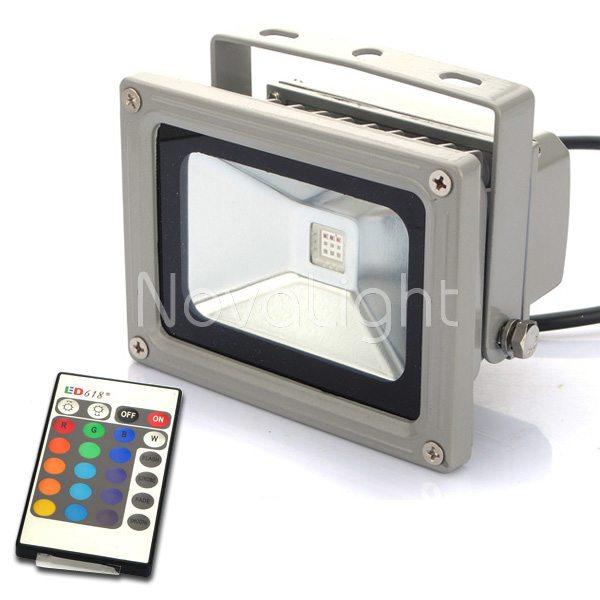Reflector Led Rgb 10w Novalight