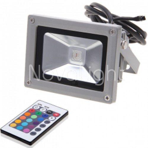 Reflector LED RGB 10w Frontal 3