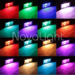 Reflector LED RGB 20w Colores