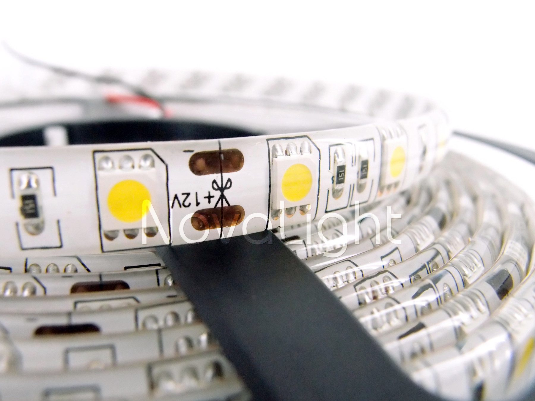 Detalle del chip 5050 monocromatico
