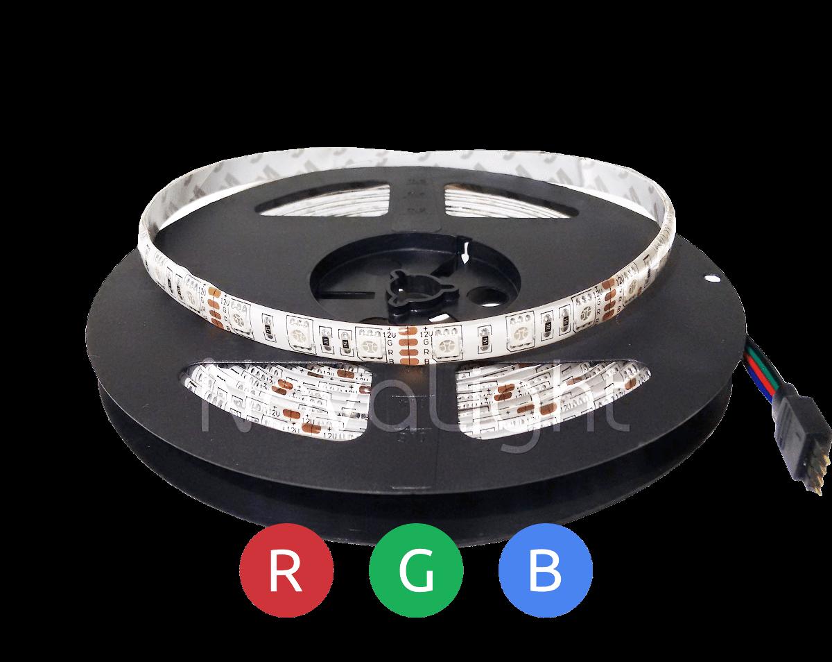 Tira con 300 LED RGB 5050 Portada