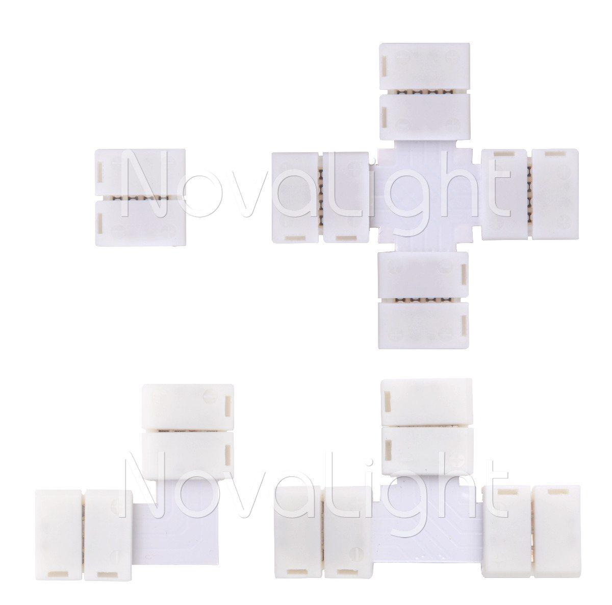 Conectores para realizar conexiones en tiras RGB sin necesidad de Soldar