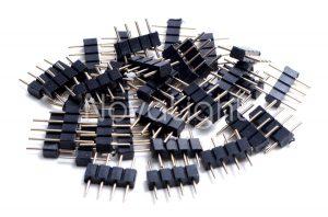 Conjunto de conectores de 4 pines macho tiras LED RGB