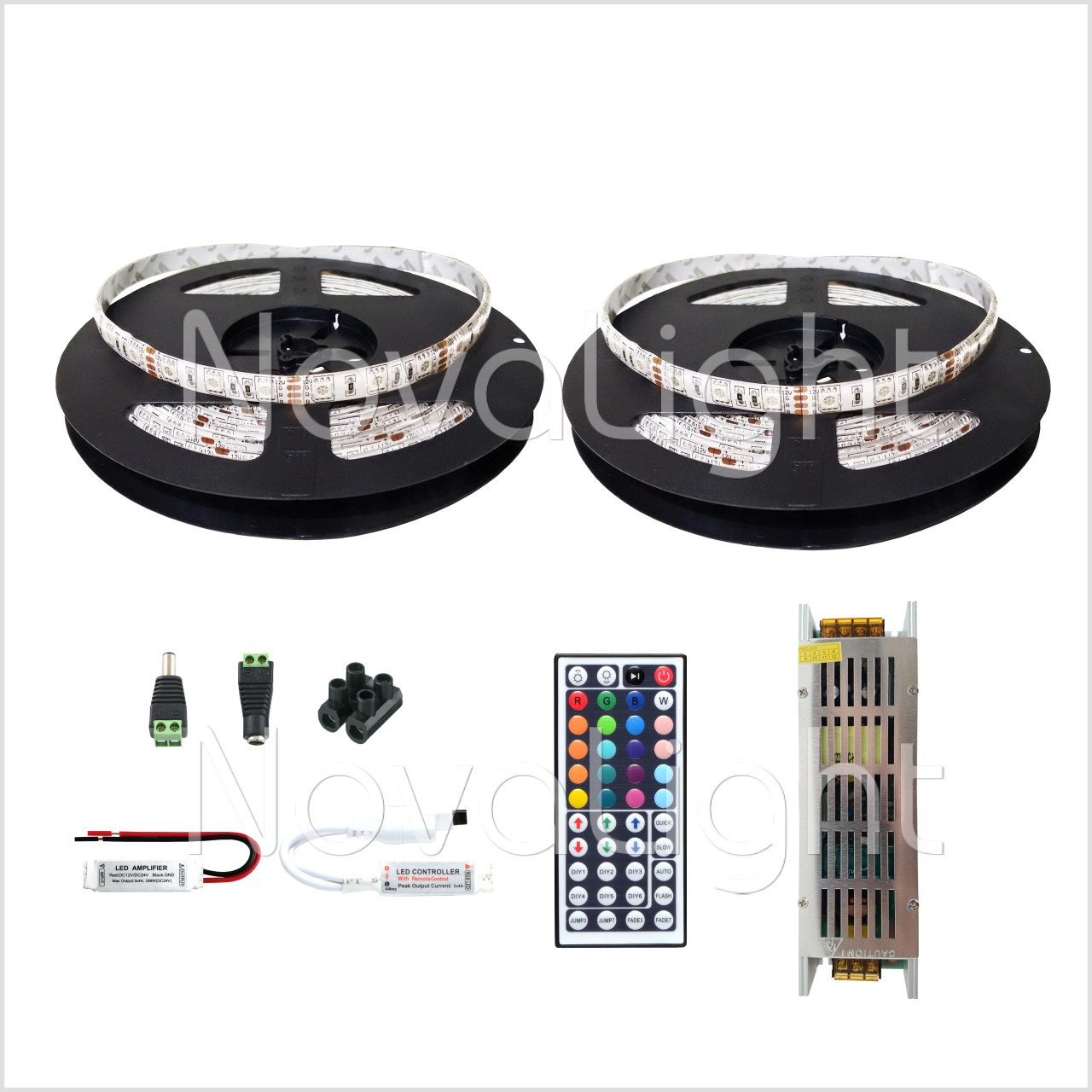 Kit completo de Tira LED RGB 10 mt (600 LED 5050)