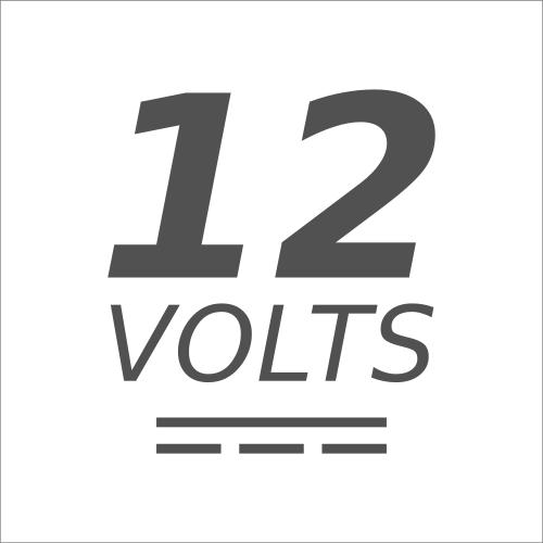 Icono de 12 volts Corriente Directa