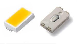 Imagen de un chip LED SMD 5630