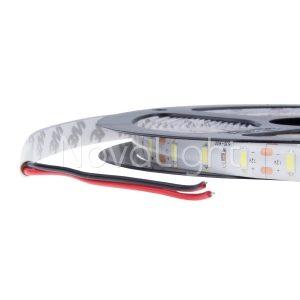 COnexión y detalle de la tira LED 5630 Alta luminosidad