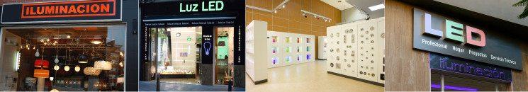 Ejemplo de tiendas de iluminación LED