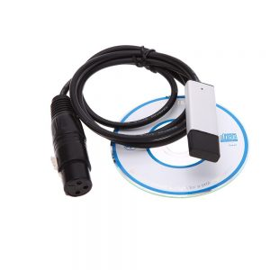 Interfaz USB a DMX con software incluido