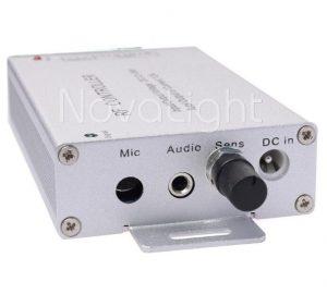 Entrada de audio directa y por microfono para prender al ritmo de la musica