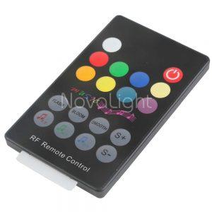 Control con funciones de sonido de 18 botones RGB