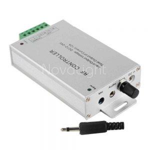 Control con sensor de sonido para tiras LED y modulos RGB Multicolor