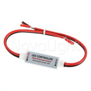 Control de iluminacion para tiras LED Unicolor o monocromaticas