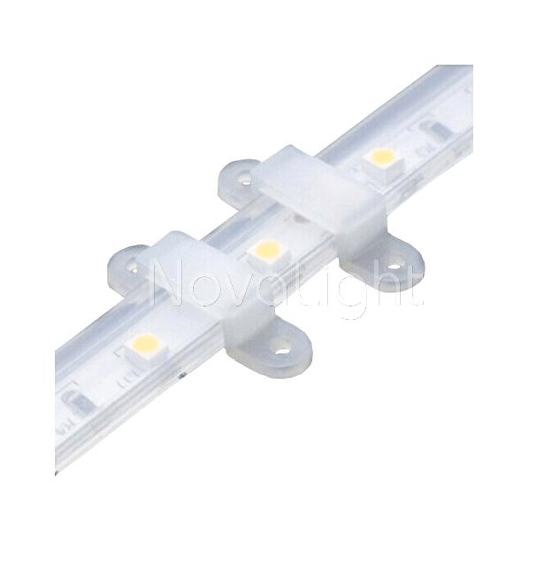 Clip o grapa para fijar tiras LED de todo tipo