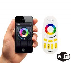 Control de iluminación mediante telefono y tablet