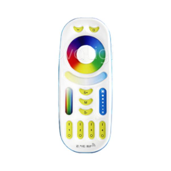 NovaRF - Control Remoto RF RGB tactil multizona, portatil