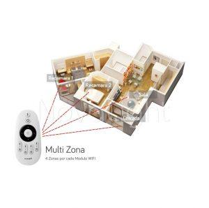 Controlador LED para multiples zonas