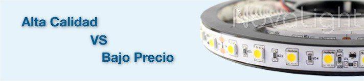Diferencia Tiras LED de Alta Calidad vs Bajo Precio