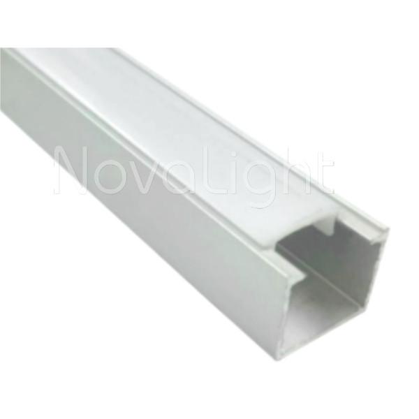 Bal 010 perfil de aluminio para tiras led 2mt econ mico - Tiras de aluminio ...