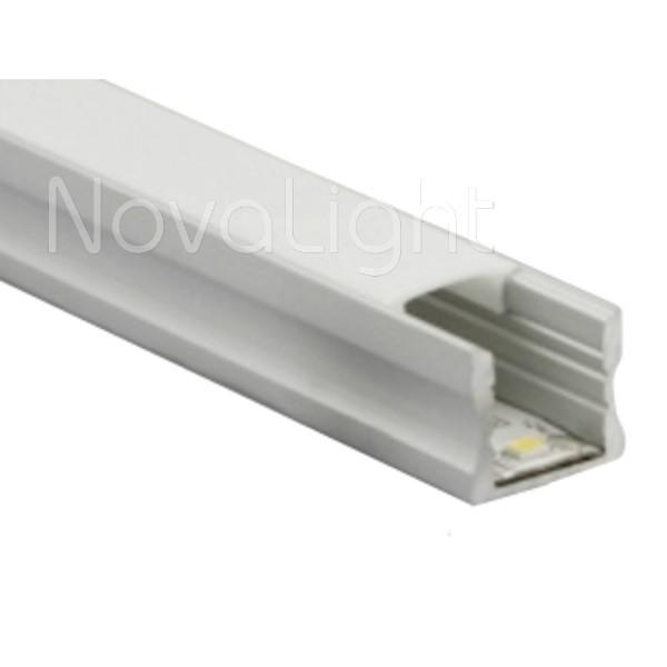 Bal 012 perfil de aluminio para tiras led 2mt - Tiras de aluminio ...