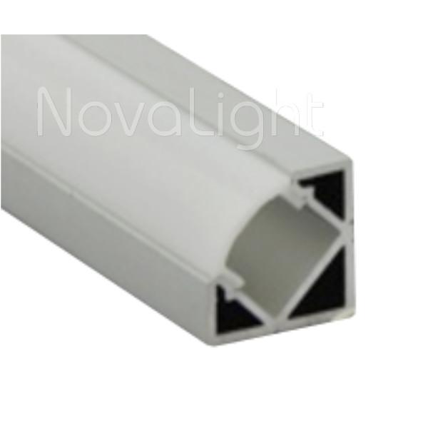Bal 020 perfil de aluminio para tiras led 2mt - Tiras de aluminio ...
