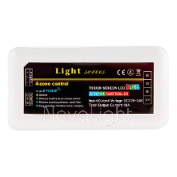 NovaRF - Controlador RF DMX RGB+WW 12 a 24v 10A