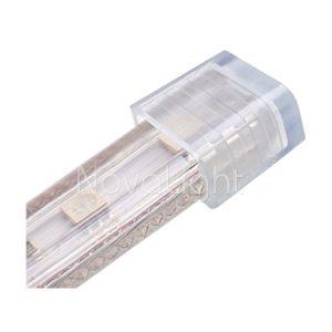 Tapa se silicon para sellado de mangueras LED 120v (Slim)