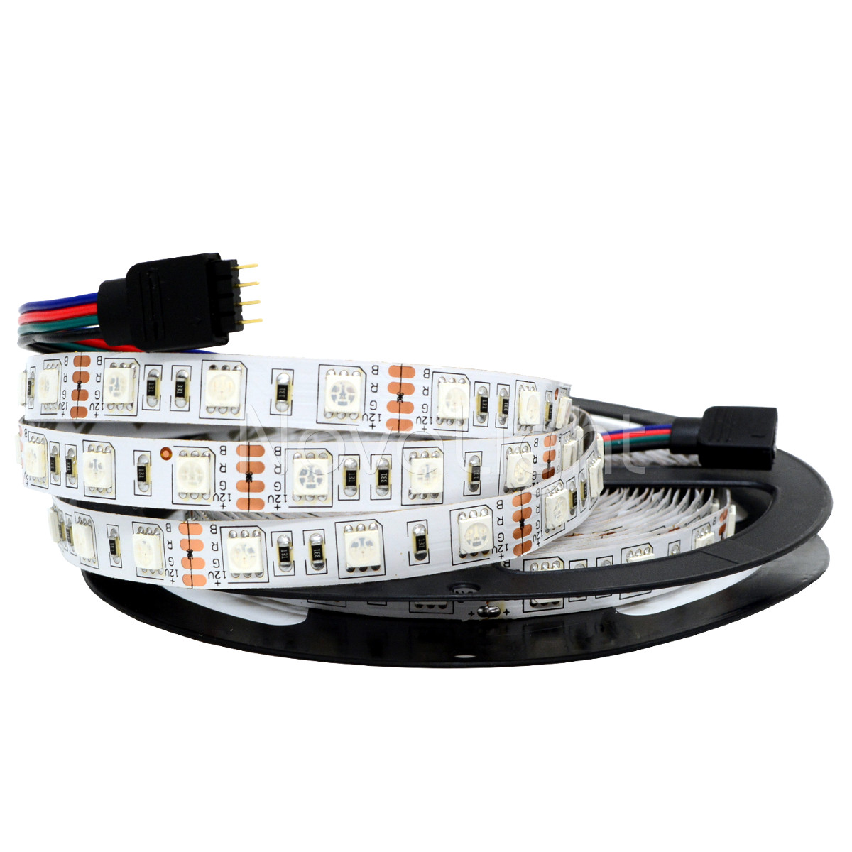 Tira LED RGB Multicolor 300 LED 5050 IP20 12v 5mt