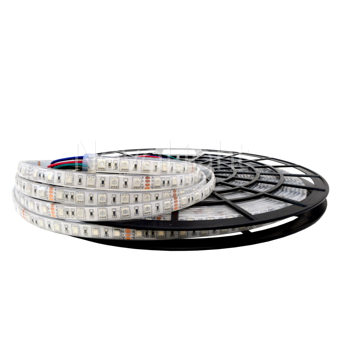 Tira 10 Metros LED RGB 5050 Multicolor Sumergible IP68
