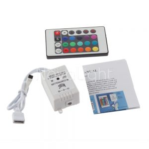Controlador RGB Audioritmico Musical Partes