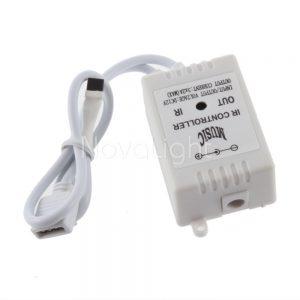 Controlador RGB Audioritmico Musical Detalle controlador