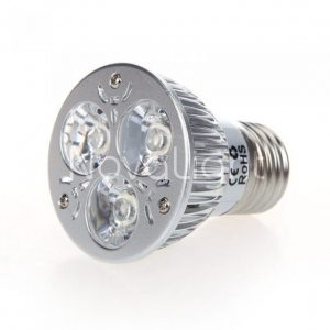 Foco LED 3w Blanco Puro Frontal