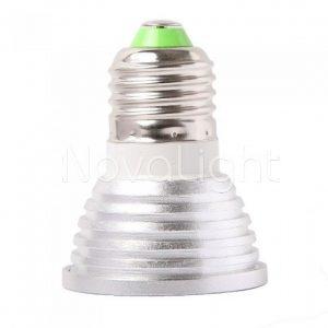 Foco LED RGB 3w E27 Perfil